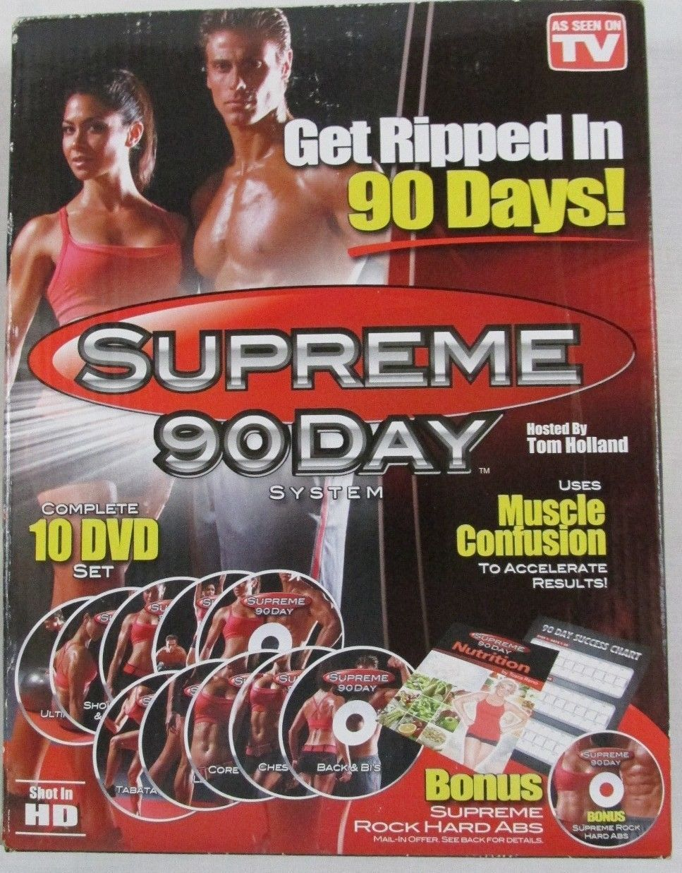 how to get ripped in 3 days