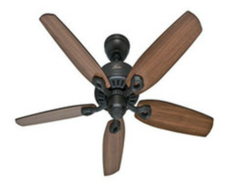 Quiet Ceiling Fan Large Room 52 Indoor 3 Speeds Cool No A C Energy Save