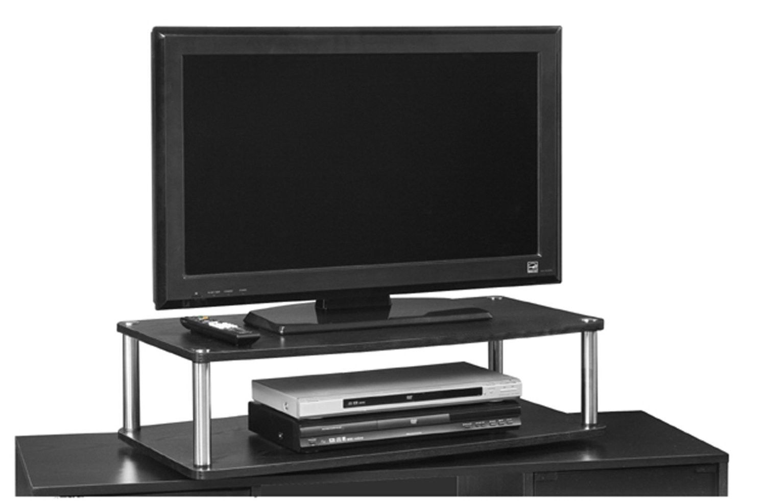 Computer Stand Flat Panel Screen 2-Tier TV Swivel Board ...