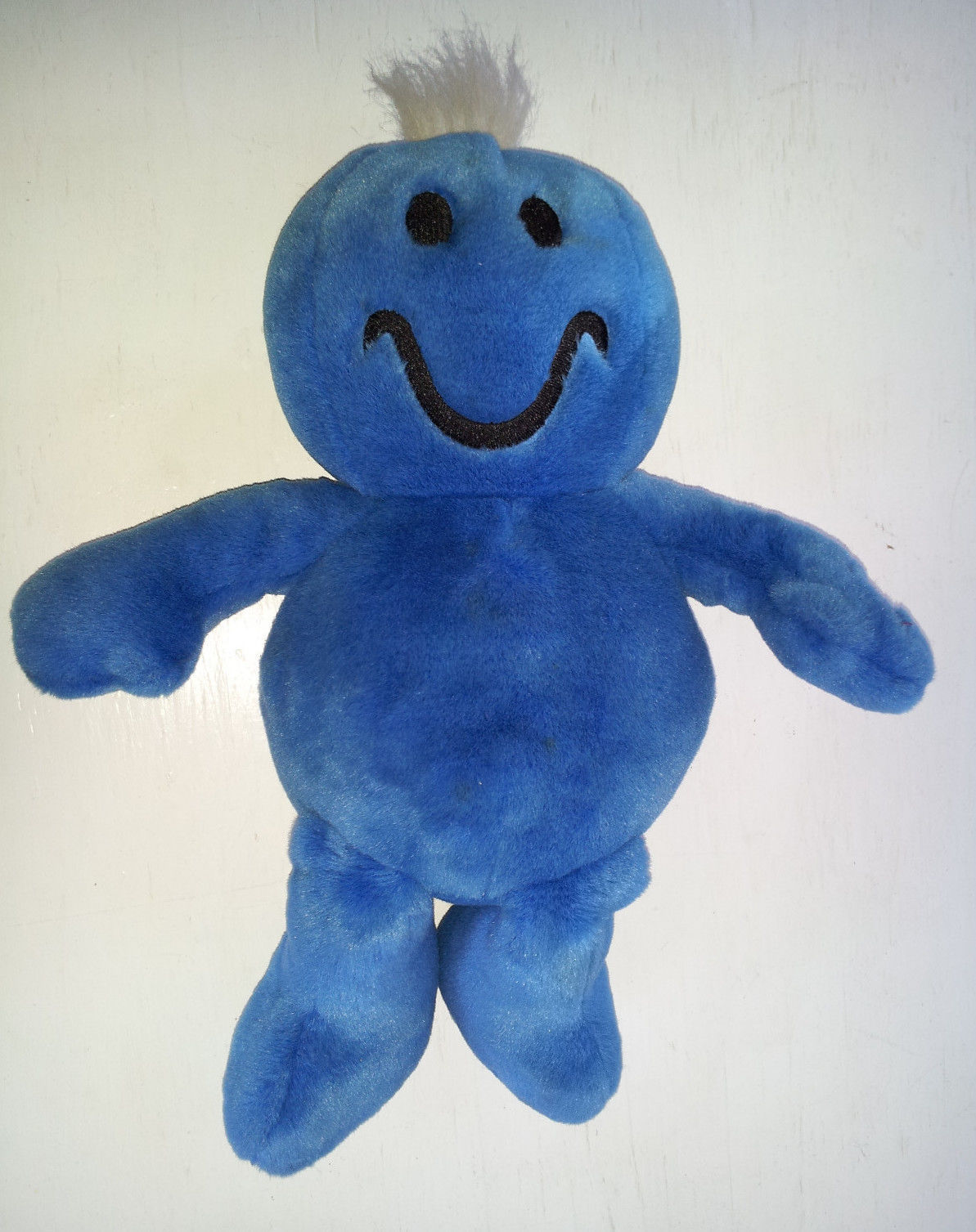 Dan Dee Laughing Smiley Face Plush Man Blue Stuffed Animal ... - photo#43