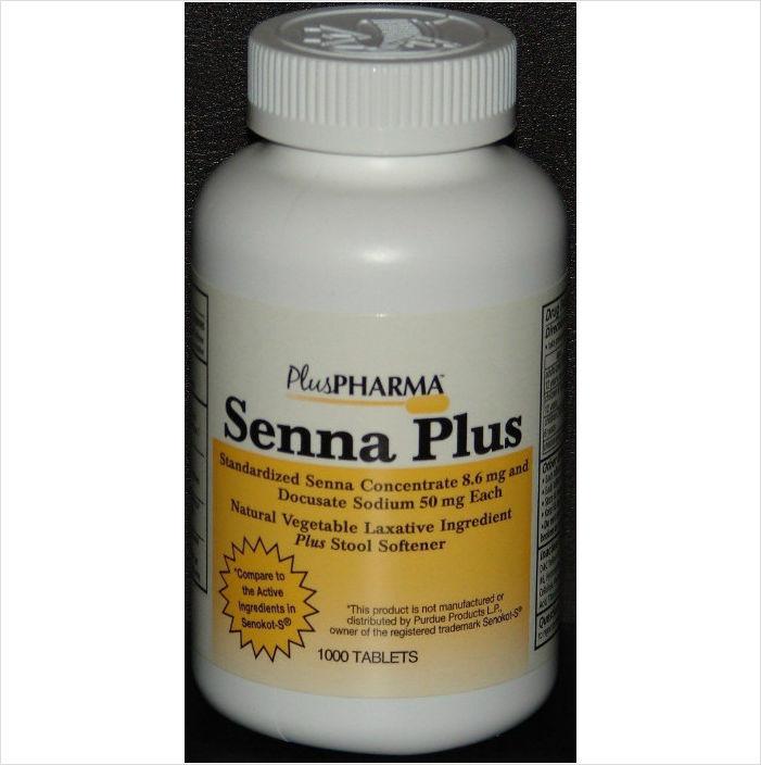 Senna Plus Laxative Amp Stool Softener Generic Senokot S