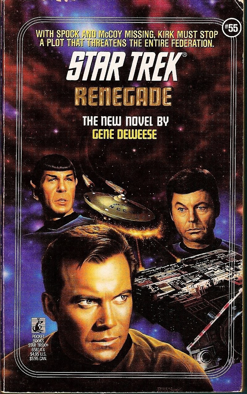 Star Trek Original Series Renegade No 55 by Gene DeWeese 1991