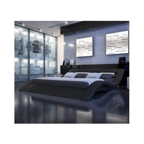 Queen King Size Platform Bed Set Bedroom Modern