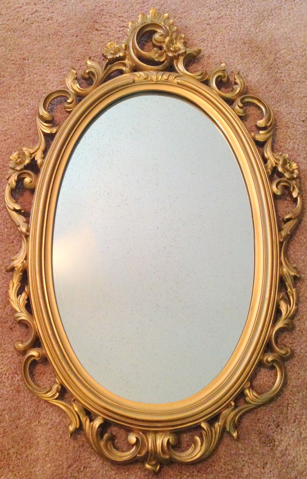 Triple oval mirror gold frame images for Mirror mirror hd