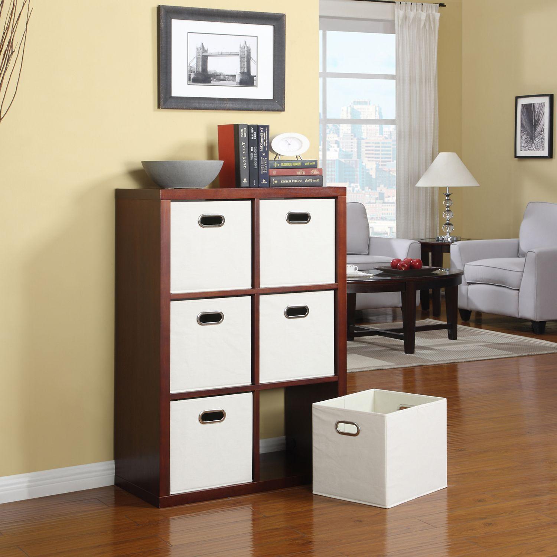 Six Cube Room Organizer Cubicle Storage Room Organizer
