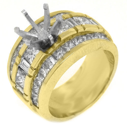 Ring Settings Yellow Gold Engagement Ring Settings ly