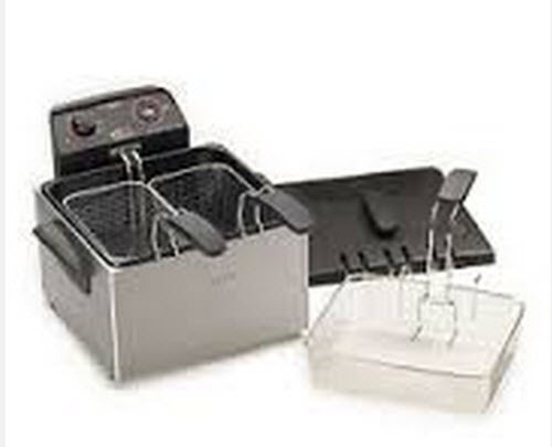 Click picture to enlarge for Fish fryer basket