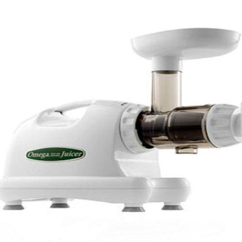 Latest Omega Juicer ~ New omega hd heavy duty masticating juicer white