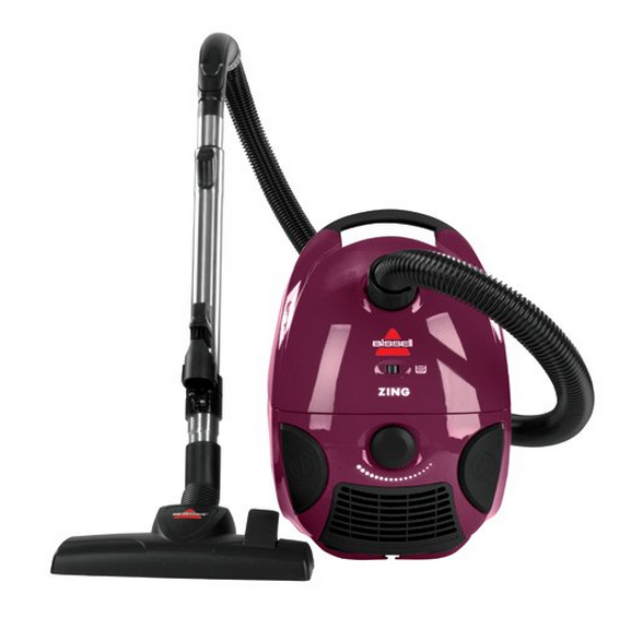 Cannister Vacuum Cleaner Lightweight Suction Carpet