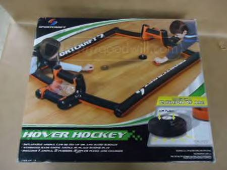 Sportcraft Portable Hover Air Hockey Set New In Box
