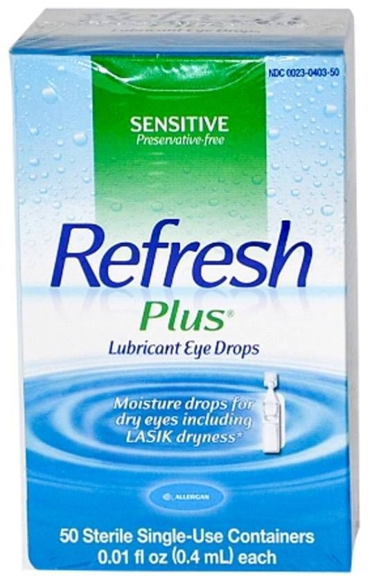 dry eye drops refresh plus lubricant eye drops moisture lasik 8 12337