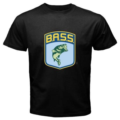 Bass master bassmaster pro fishing logo t shirt size s 3xl for Fishing logo t shirts