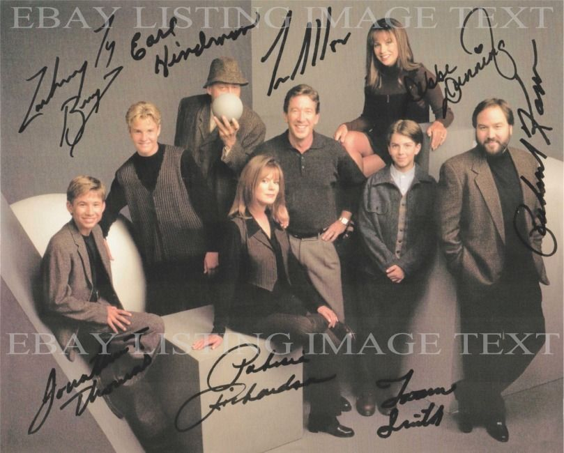 Home Improvement Tool Time Full Cast Autographed 8x10 Rp