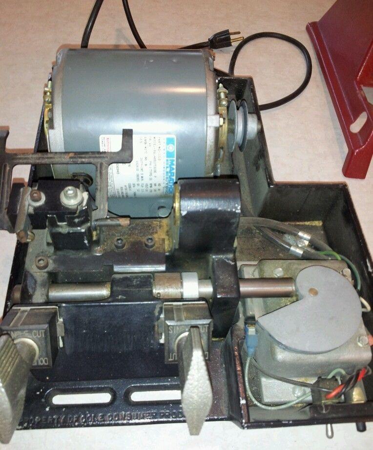 cole key cutting machine