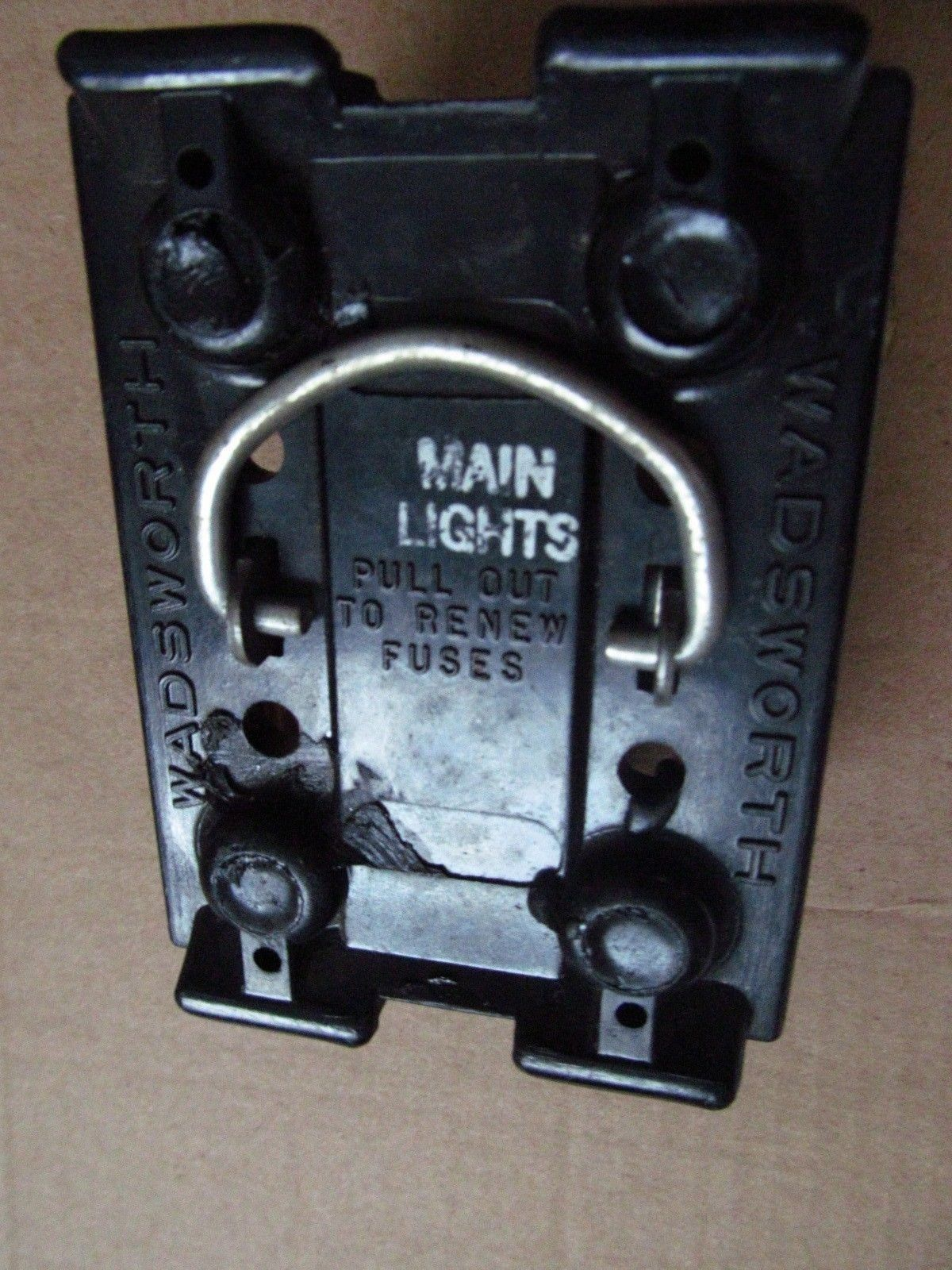 60 amp wadsworth fuse holder pull out / free 60a & 30a ... crx fuse box pin outs #9