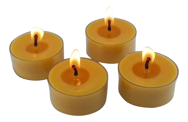 250 organic bakery scents beeswax tea light candles bulk candles. Black Bedroom Furniture Sets. Home Design Ideas