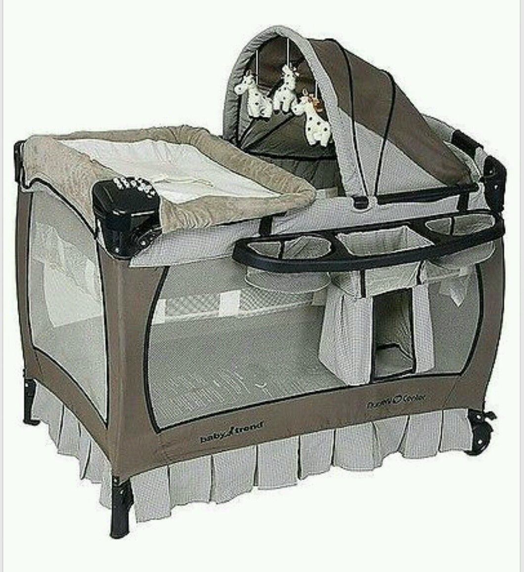 Playpen Changing Table Bassinet Organizer Nursery Baby