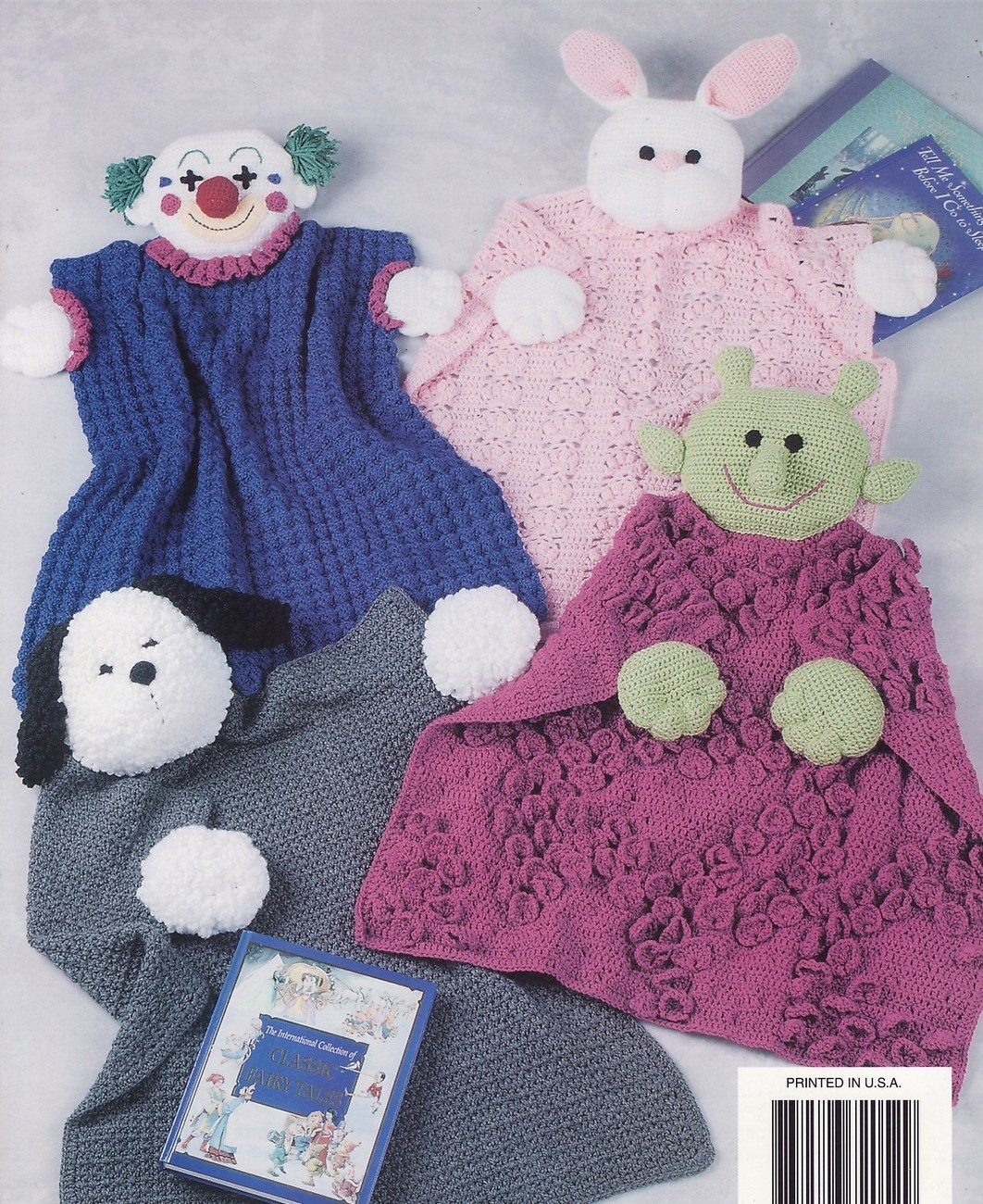 Blanket Buddies Crochet Patterns Book Annies Baby 7 ...