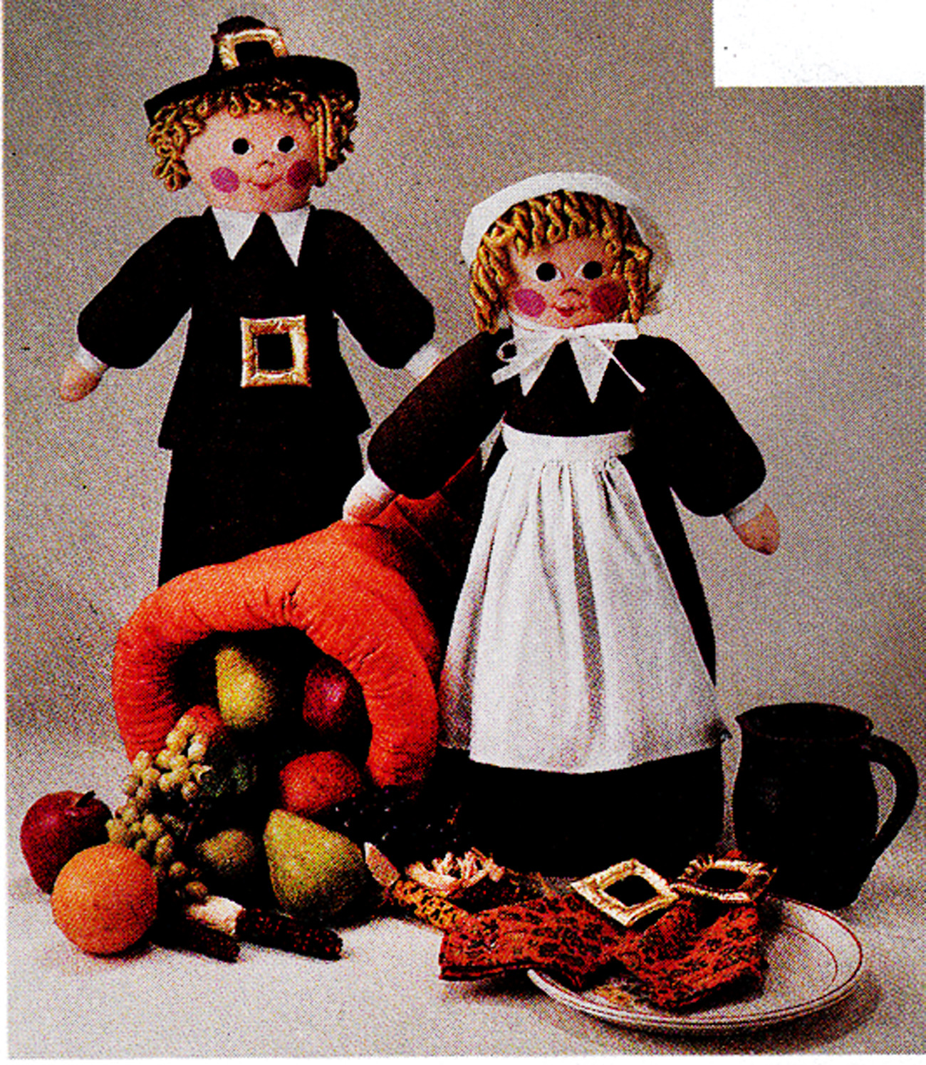 Christmas thanksgiving halloween dolls decorations mccall