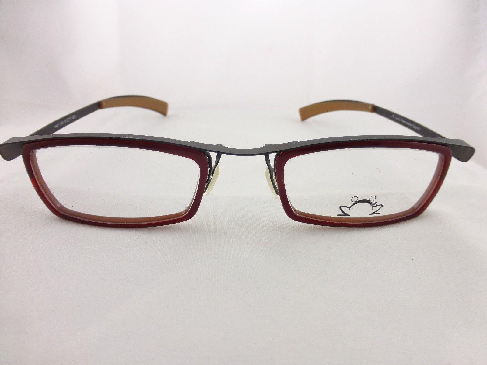 Glasses Frame Made In France : EYE DC Special eyeglasses frame, Red frame, Mod. V411 Made ...