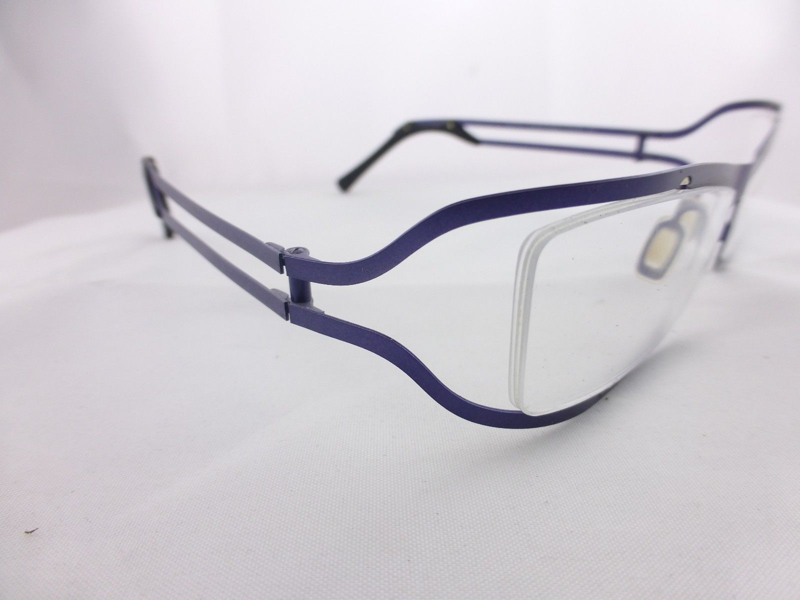 Glasses Frame Made In France : EYE DC eyeglasses Great Looking frame, Purpule , Mod. V422 ...