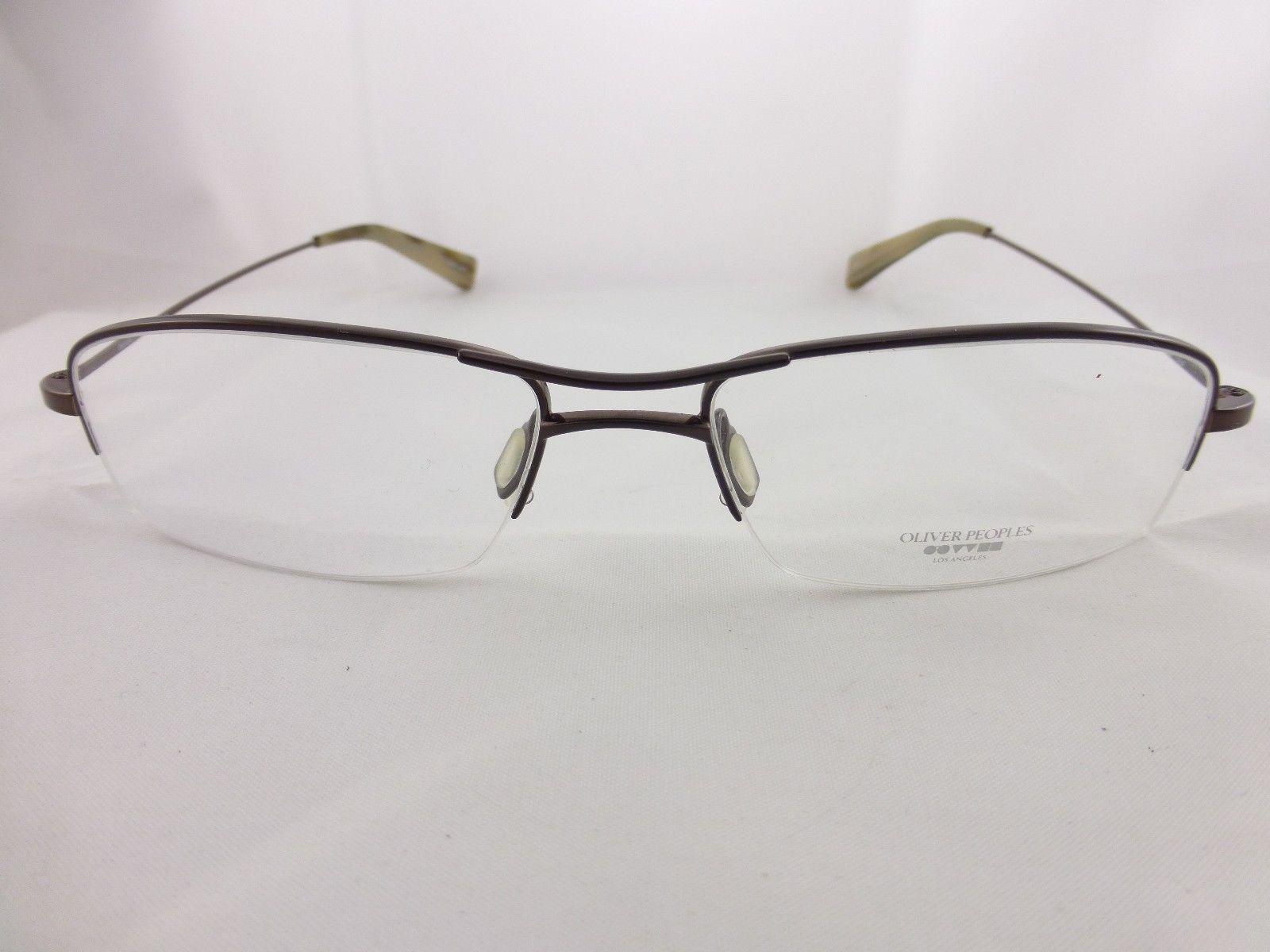 Unusual Designer Eyeglass Frames : Oliver Peoples Rare Style Brown eyeglasses frame, Unique ...