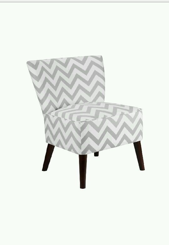 Chair Living Room Furniture Accent Grey Home Bedroom White Fabric Contemporary Chairs
