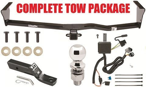 Trailer hitch wiring kit mount ball fits sxv6 and for Miroir tow n see