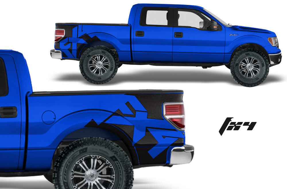 Vinyl Graphics For Ford Trucks
