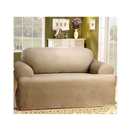 Classic Cotton Sofa Couch Slipcover 100 Cotton T Cushion
