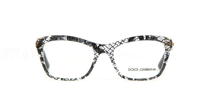 NEW AUTHENTIC DOLCE & GABBANA DG 3198 2854 LACE Eyeglass ...