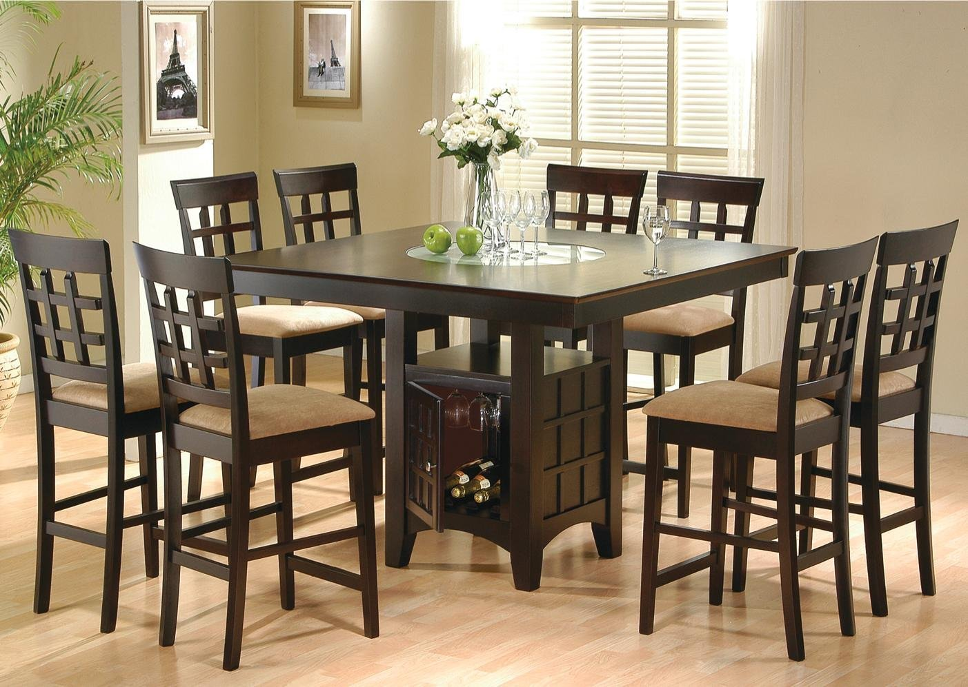 Formal Dining Room Sets With China Cabinet Piece Counter Height Dining Room Set And Similar Items Finish