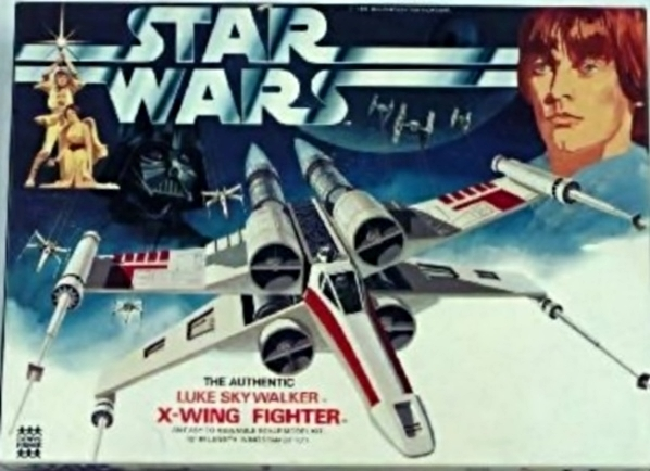 Star Wars, Luke Skywalker, X-Wing Fighter, Never Opened, First ISSUE, MPC, 1977