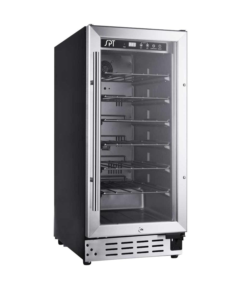 Sunpentown 33 bottle under counter kitchen bar wine cooler - Commercial grade kitchen appliances ...