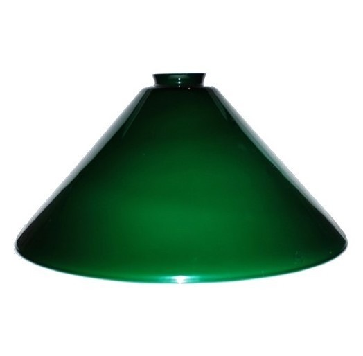 Pendant Light Shade Blue Green Vianne Glass 2.25 X 14 Cone