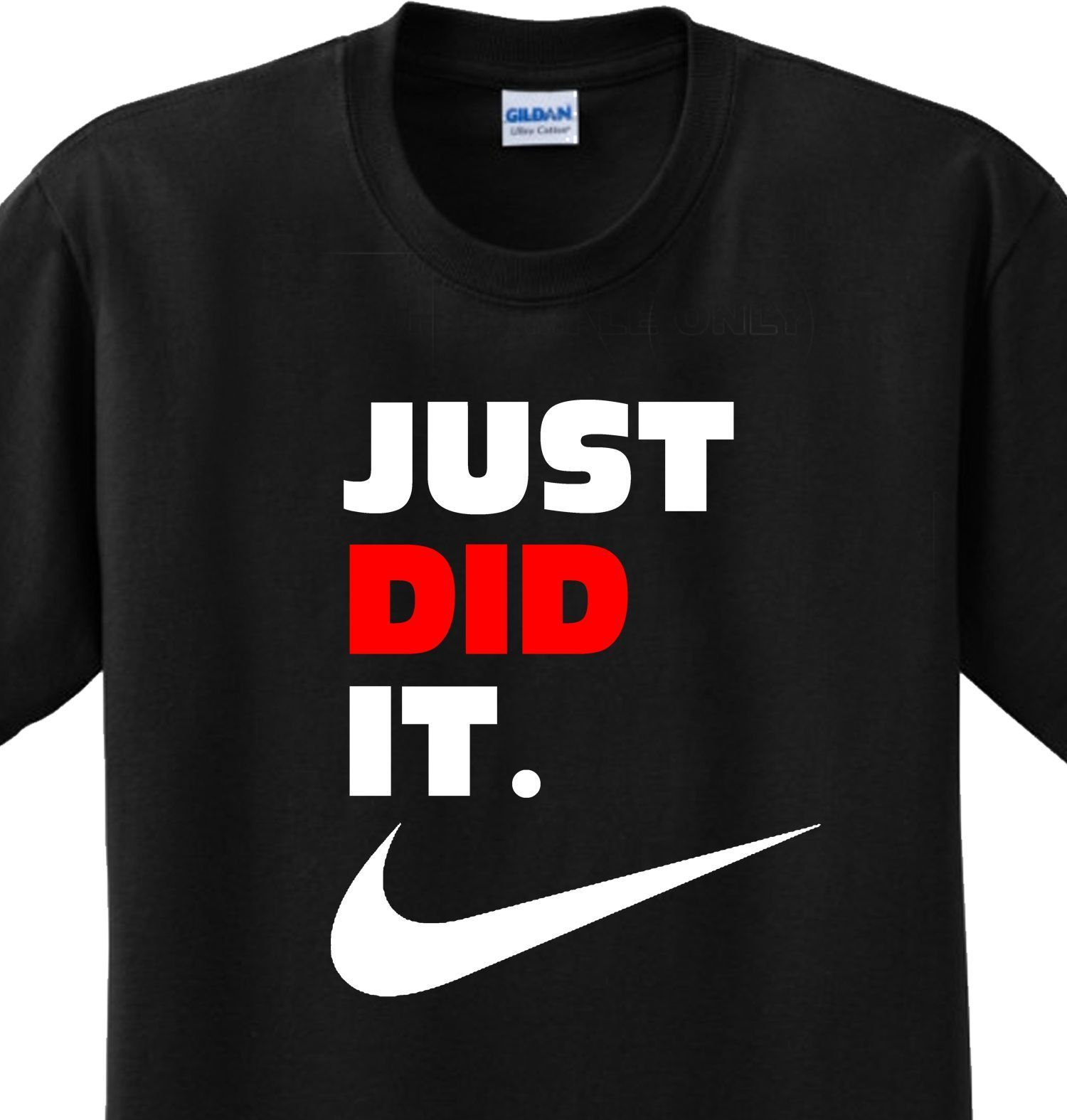 Nike Slogan Shirts Saying Nike Slogan Spoof