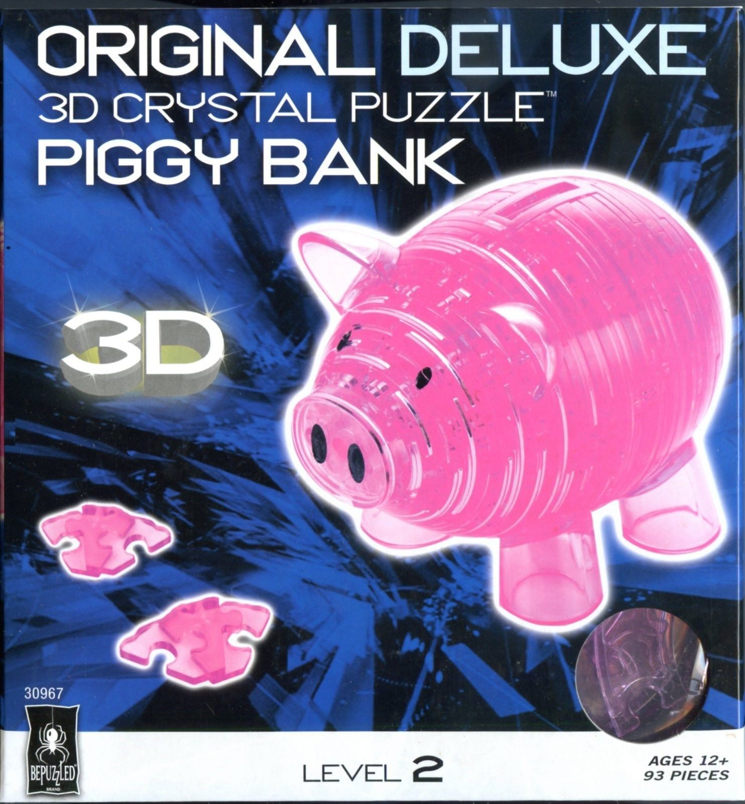 3d crystal puzzle piggy bank instructions