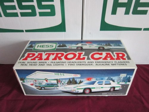 1993 hess patrol car 1990 94. Black Bedroom Furniture Sets. Home Design Ideas