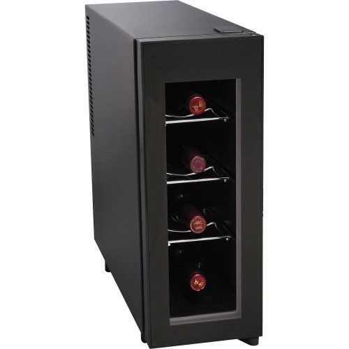 Wine Cooler Fridge Mini Refrigerator Bottle Rack Chiller