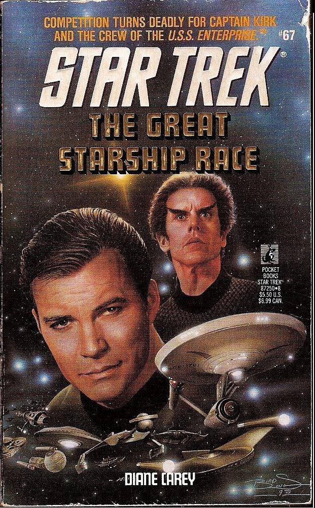 Image 0 of Star Trek TOS The Great Starship Race No 67 by Diane Carey 1993