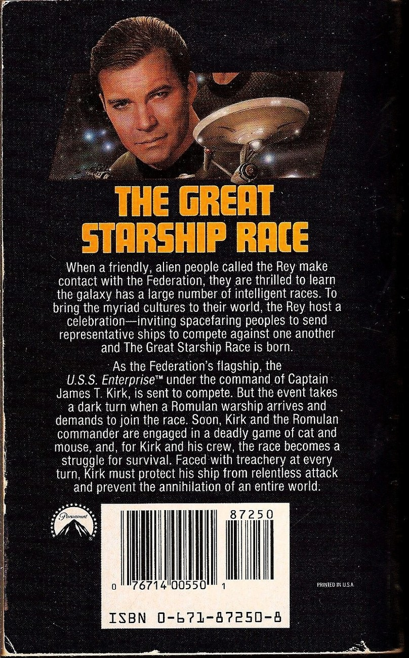 Image 1 of Star Trek TOS The Great Starship Race No 67 by Diane Carey 1993