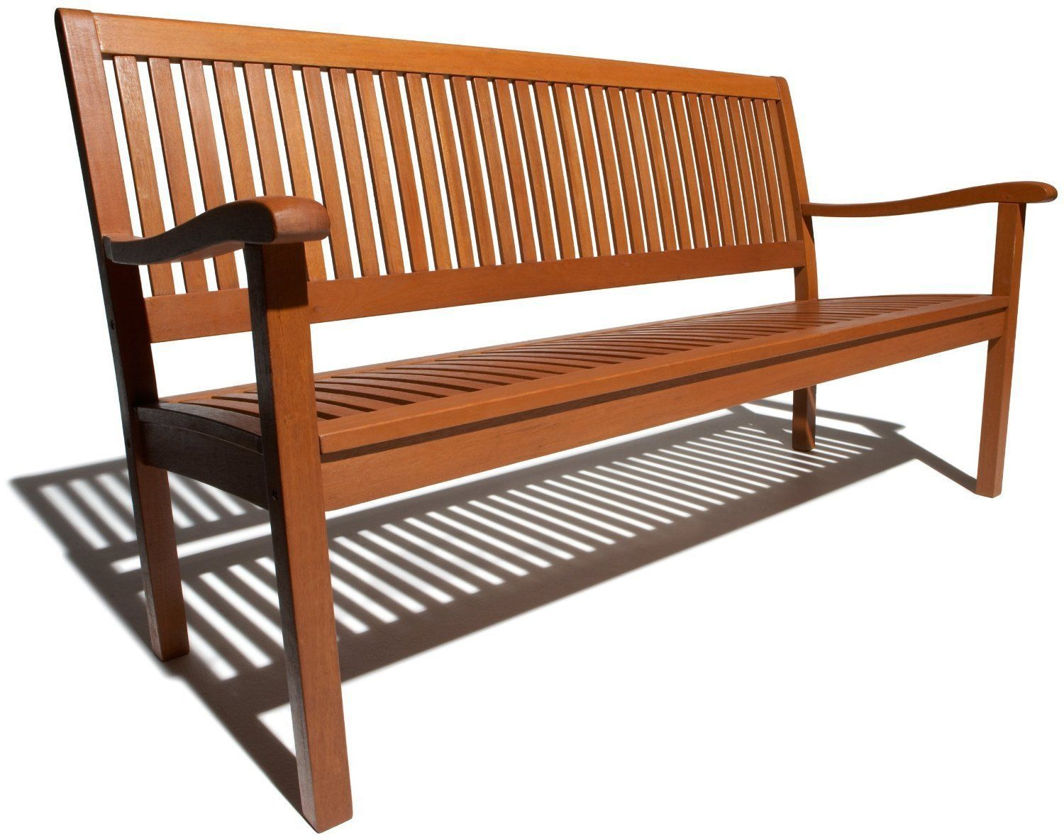 Marvelous photograph of Outdoor Garden Bench Wood 2 Seat Chair Home Furniture Porch Deck Patio  with #AE511D color and 1500x1184 pixels