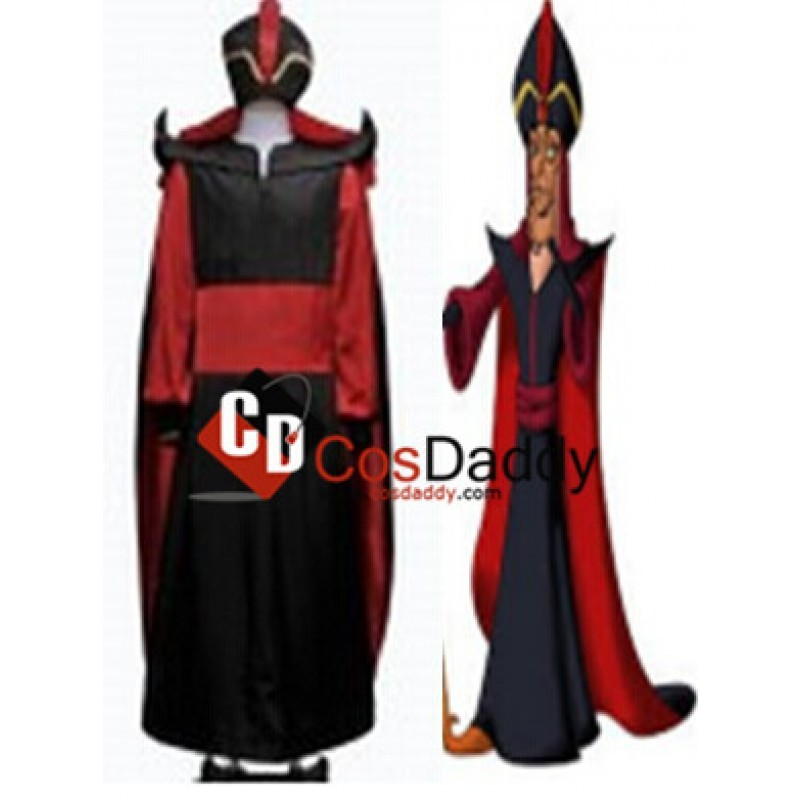 Jafar villain cosplay costume tailor made custom clothing amp jewelry