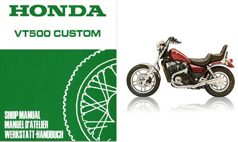 83 86 honda shadow 500 vt500c service repair workshop manual cd vt500 vt other makes 1986 honda shadow manual for sale 86 honda shadow manual