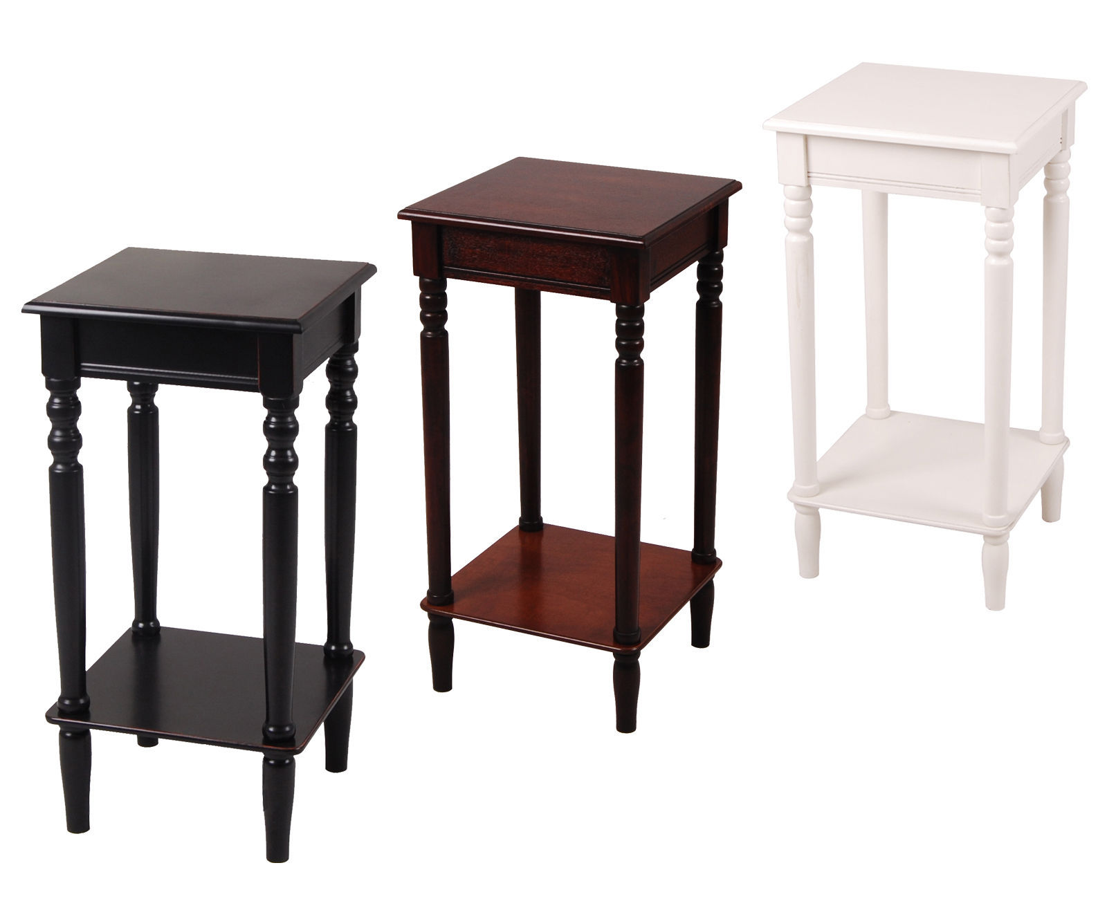 Wood Side Tables With Storage ~ Urbanest solid wood square accent side end table with