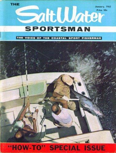 SALT WATER SPORTSMAN Stripers outboard survey ++ 1 1963 for sale