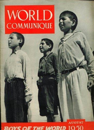 WORLD COMMUNIQUE Boys Around World: YMCA 8 1950, used for sale