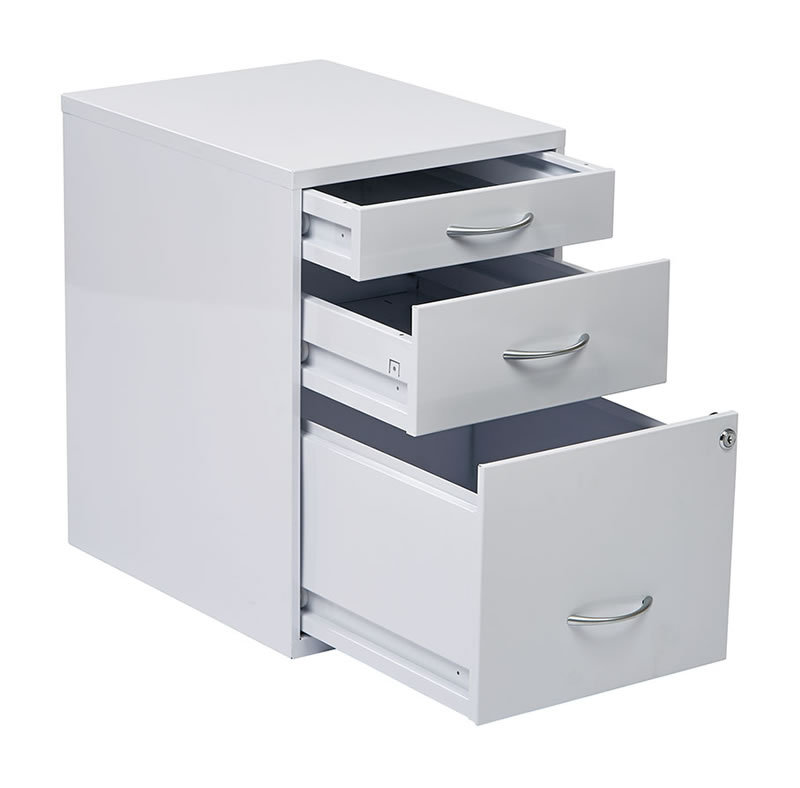 3 Drawer Letter Legal Colorful Metal Office File Storage