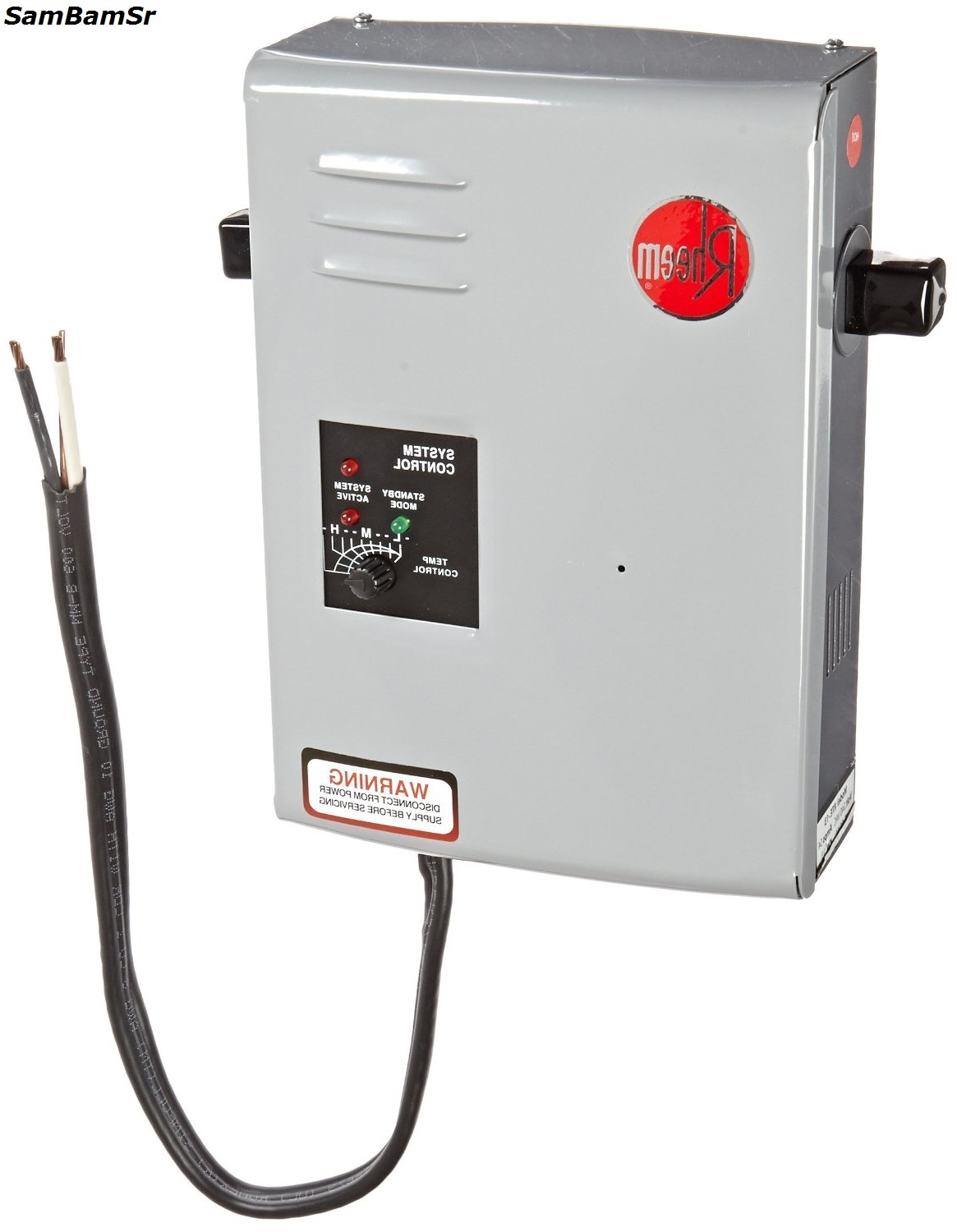 Rheem Rte13 Electric Tankless Water Heater 4 Gpm Energy