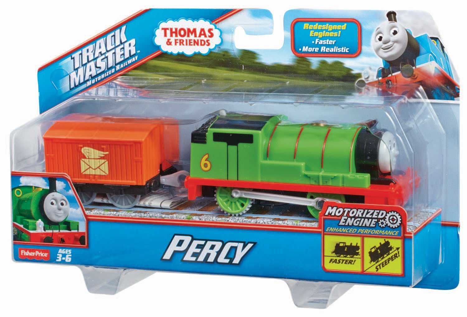 Fisher price thomas and friends motorized trackmaster for Fisher price motorized cars